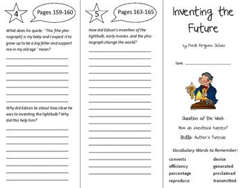Inventing the Future Trifold - Reading Street 6th Grade Un