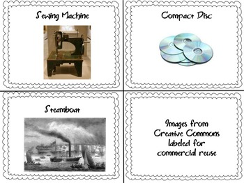 INVENTIONS - Match Inventions With their Inventors (Bingo)