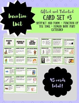 Invention Card Set 3