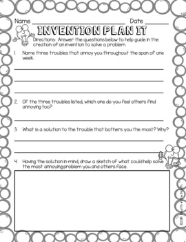 Invention Convention - A STEM-Based Project & Family Engagement Activity