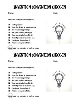 Invention Convention Check-In