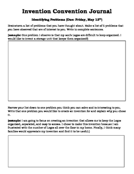 Invention Convention Packet