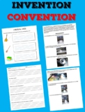 Invention Convention - a unit to teach your students to become inventor