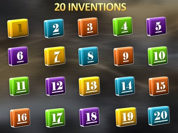 Inventions - PowerPoint Game Bundle