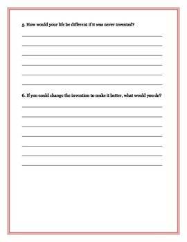 Invention Questionnaire