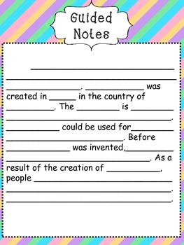 Invention Research Note Pages