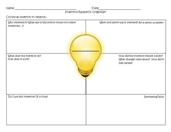 Invention Research Organizer