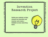 Invention Research Project (Reading Wonders)