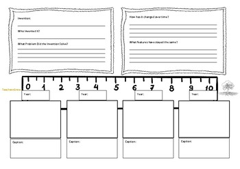 Invention Research Template