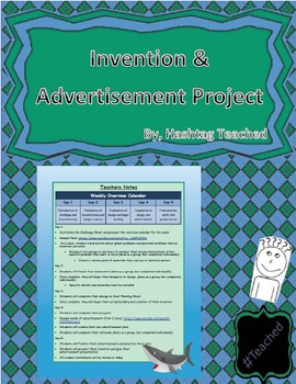 (Shark Tank Inspired) Invention and Advertisement Creation Challenge Project