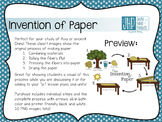 Invention of Paper Making Clipart