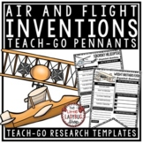 Inventions Research Project [Air & Flight Research Templates] Teach- Go Pennant