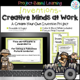 Distance Learning Inventions PBL   Digital and Printable   Google