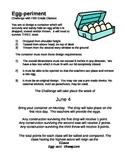 Inventions - Egg Drop Experiment