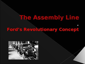 Inventions - The Assembly Line