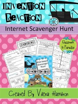 Inventions. Internet Scavenger Hunt