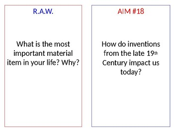 Inventions Presentation