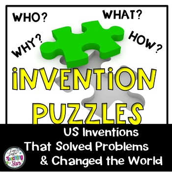 Invention Puzzles: US Inventors that Solved Problems