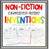 Inventions Reading/Comprehension Non-fiction Passages with