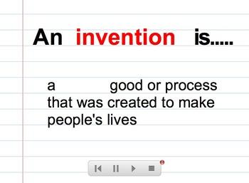Inventions SMARTBoard Lesson