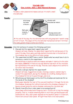 Inventions Science Lesson Three