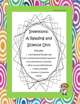 Inventions Science and Reading Integration