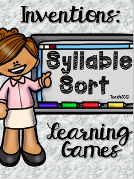 Inventions Syllable Sort