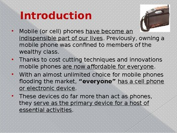 Inventions - The Cell Phone