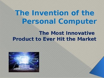 Inventions - The Personal Computer
