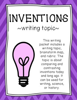Inventions Writing Topic