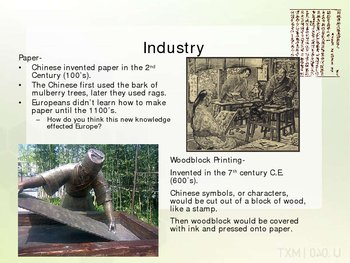 Inventions and Discoveries of the Chinese