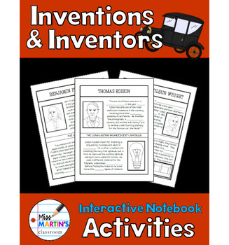 Inventions and Inventors Interactive Notebook