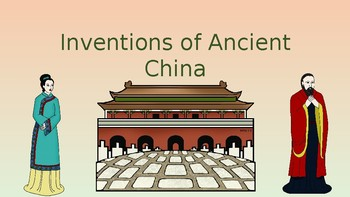 Inventions of Ancient China Pack