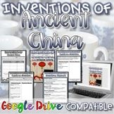 Inventions of Ancient China WebQuest {Digital AND Paper}