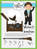 Inventions of Eli Whitney Clip Art
