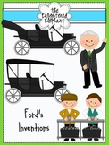Inventions of Henry Ford Clip Art