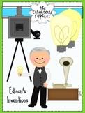Inventions of Thomas Edison Clip Art