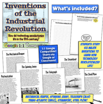 Industrial Revolution Inventions: Spinning Jenny, Steam Engine, Telegraph!