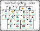 Inventive Spelling Task Cards for Kindergarten with Anchor Chart & Games