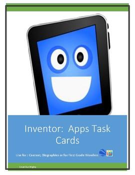 Inventor:   Apps Task Cards