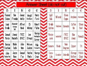 Inventor Bingo