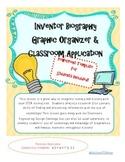 Inventor Biography Graphic Organizer & PowerPoint Template