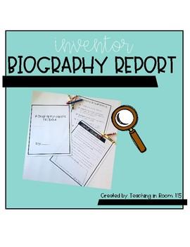 Inventor Biography Report