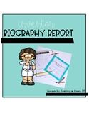 Inventor Biography Report Book
