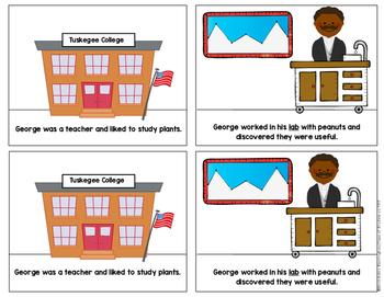 Inventor: George Washington Carver Mini Reader First Grade & Kindergarten