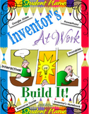 Inventor Invention Resource Guide & Journal Notebook Engin