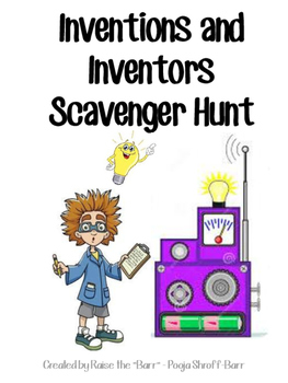 Inventor/Invention Scavenger Hunt