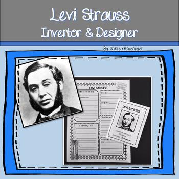 Inventor - Levi Strauss Inventor & Designer {Gold Rush Era}