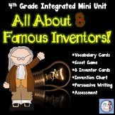 Inventor Mini Unit for 4th grade (aligned to Ohio's New Learning standards)