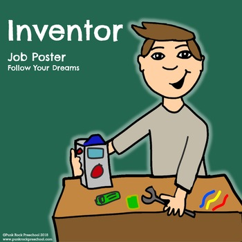 Inventor Poster - Discover Your Passions